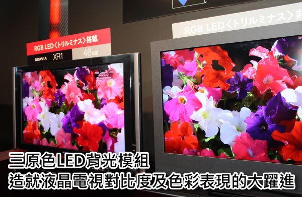 【CEATEC 2008】三原色LED背光模組造就液晶電視對比度及色彩性能的大躍進